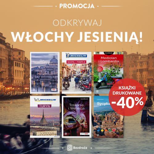 Odkrywaj Włochy jesienią! [Książki drukowane -40%]