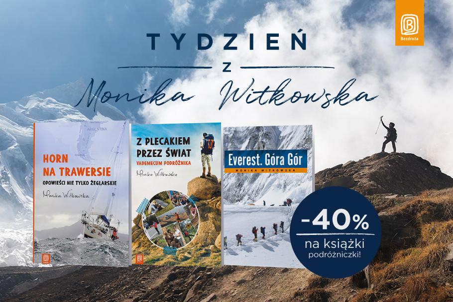 Monika Witkowska, promocja, przecena, literatura górska