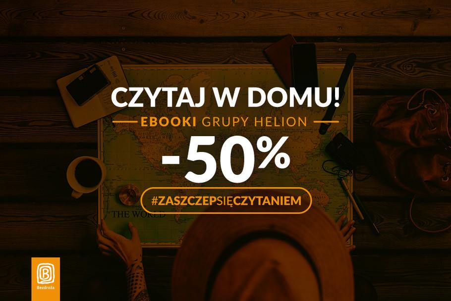 Ebooki 50% taniej/ #ZaszczepSięCzytaniem