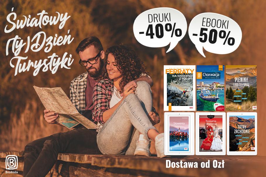 Światowy (ty)Dzień Turystyki [Książki drukowane -40%| Ebooki -50%]