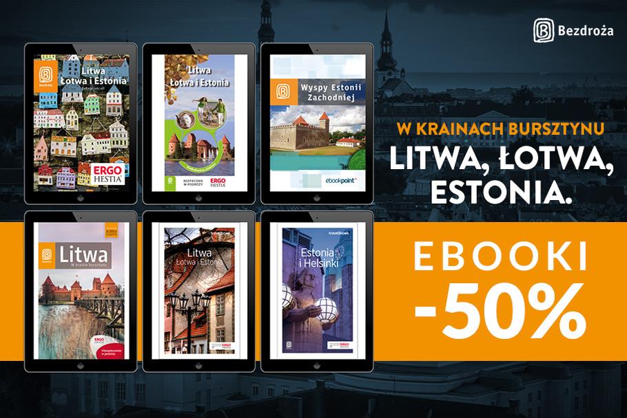 W krainach bursztynu - Litwa, Łotwa, Estonia [Ebooki -50%]