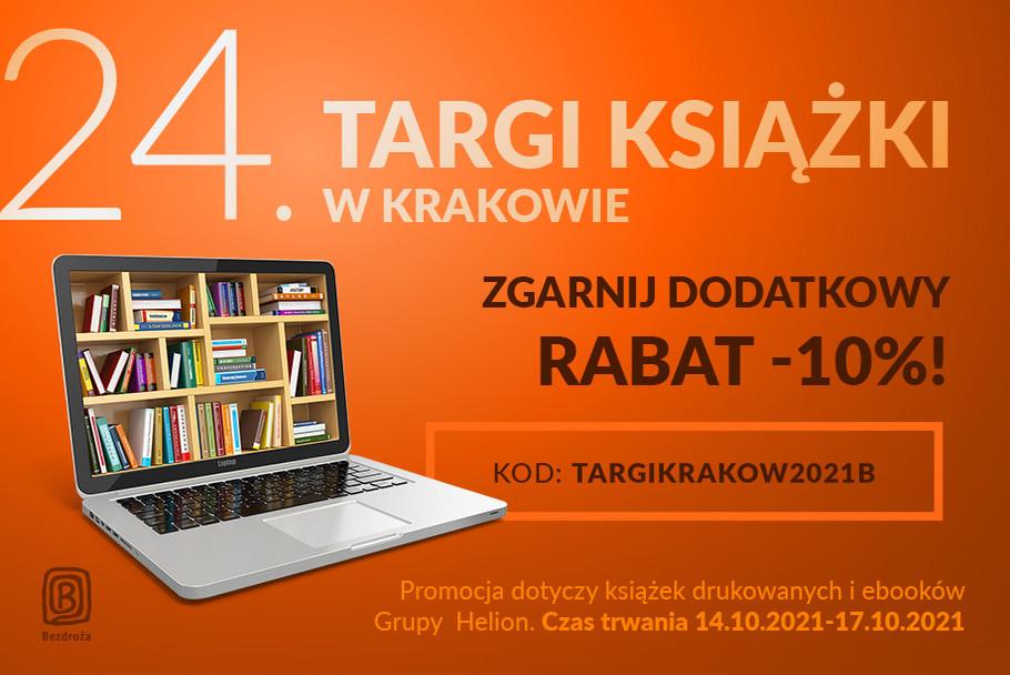 24. Targi Książki w Krakowie - ZGARNIJ DODATKOWY RABAT -10%!