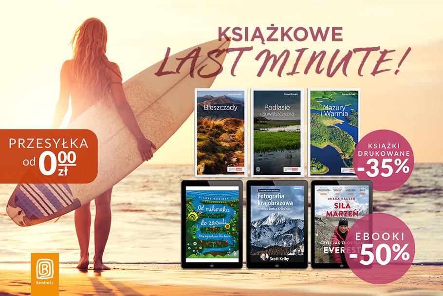 Książkowe last minute! [Książki -35% | Ebooki -50%]