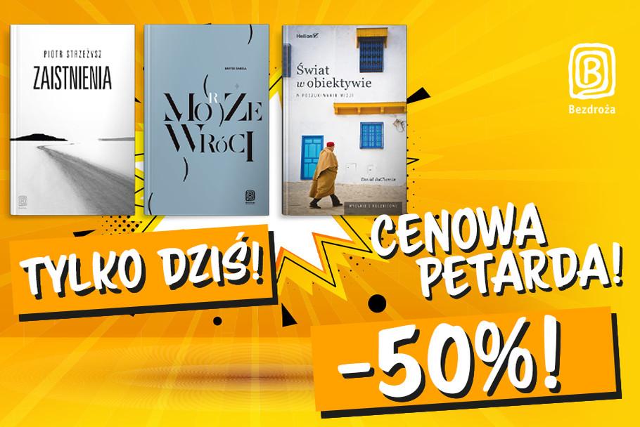 🎆CENOWA PETARDA - Światowy Dzień Książki!📚 [Tylko dziś -50%]