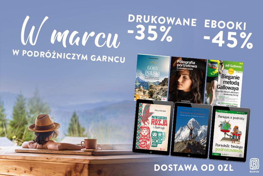 W Marcu - w podróżniczym garncu... [Książki drukowane -40%  Ebooki -50%]