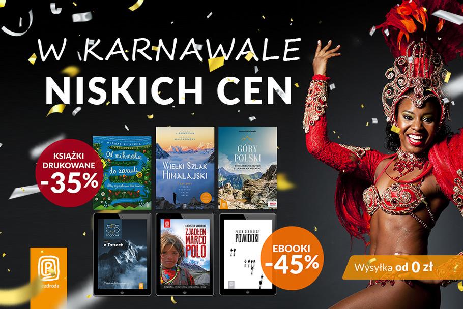 W karnawale niskich cen [Książki drukowane -35%| Ebooki -45%]