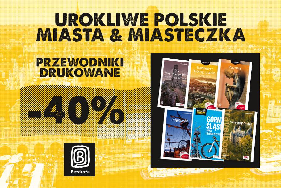 Urokliwe polskie miasta i miasteczka [Przewodniki drukowane -40%]