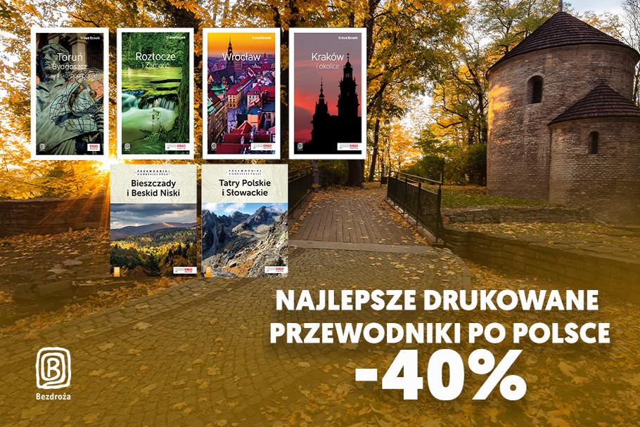 Najlepsze drukowane przewodniki po Polsce [-40%]
