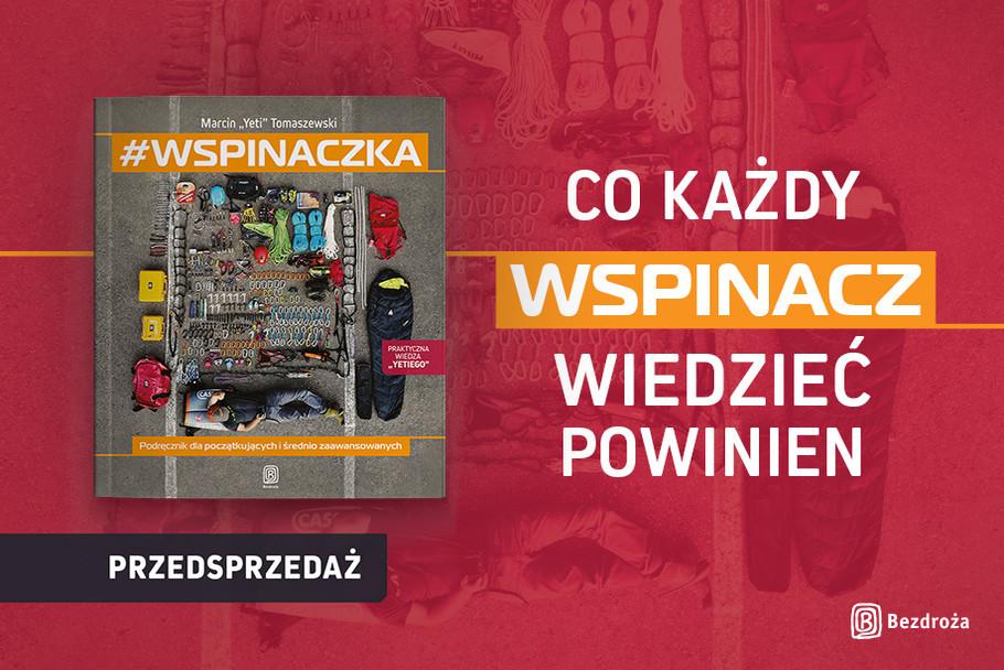 wspinaczka, podręcznik, Marcin Tomaszewski, Yeti