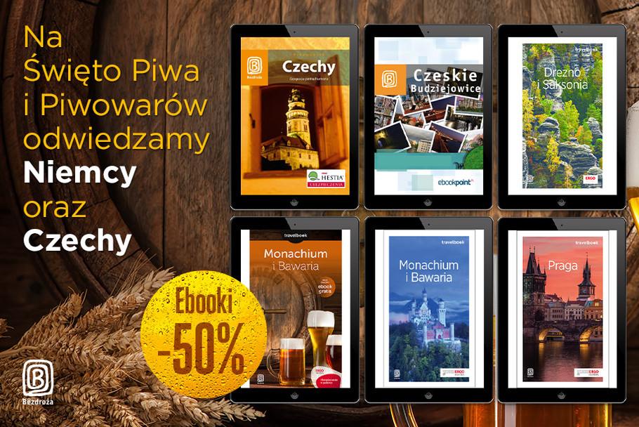 Święto Piwa i Piwowarów - odwiedzamy Niemcy oraz Czechy [Ebooki -50%]