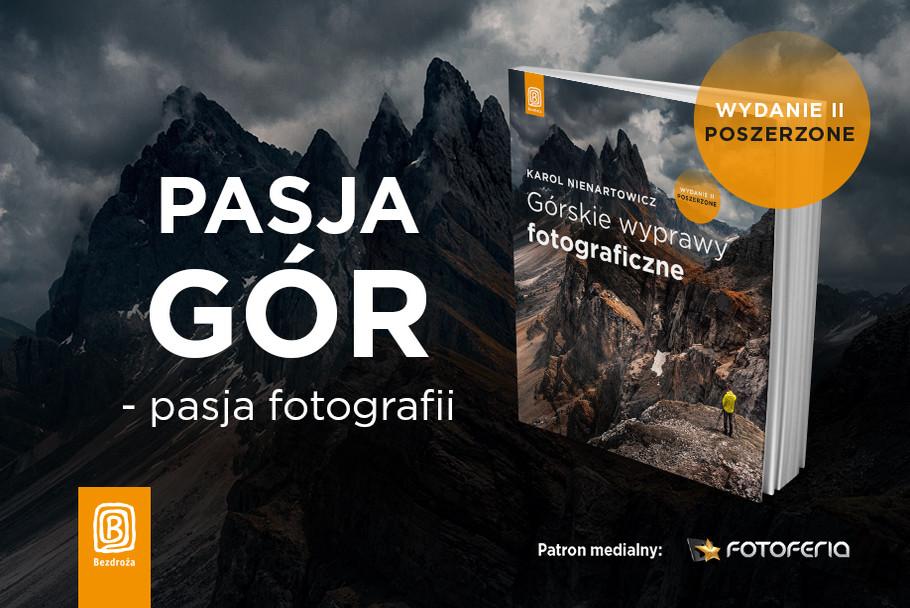 Karol Nienartowicz Górskie wyprawy fotograficzne