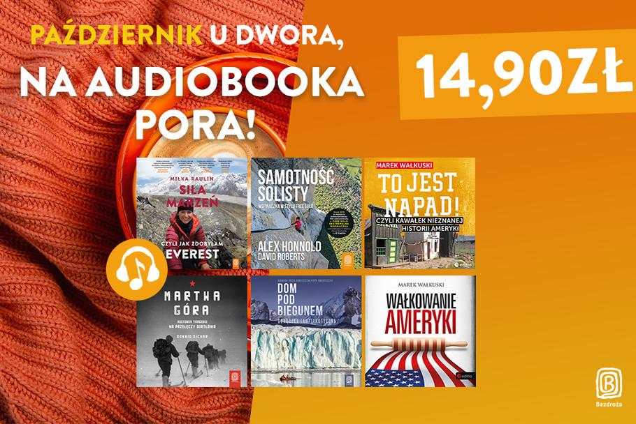 Październik u dwora na audiobooka pora [po 14,90zł]