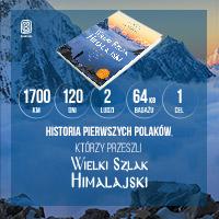 Książka pierwszych Polaków, którzy przeszli Wielki Szlak Himalajski