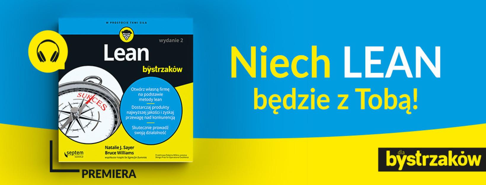 Lean Dla Bystrzaków - premiera