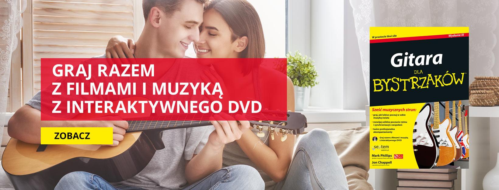 Graj razem z filmami i muzyką z interaktywnego DVD