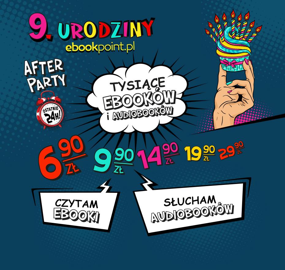 9. urodziny ebookpoint.pl AFTER PARTY - promocje cenowe
