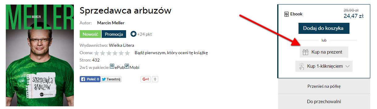 9671eb86c39bda Ebooki i Audiobooki na prezent Ebookpoint.pl - tu się teraz czyta!