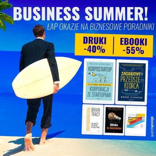business summer poradniki biznesowe onepress