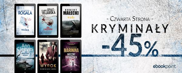 Kryminały Wydawnictwo Czwarta Strona