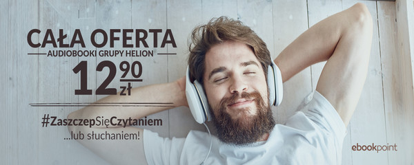 audiobooki grupy helion 12,90zł