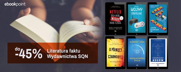 wydawnictwo sqn literatura faktu