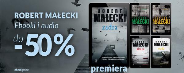 Robert Małecki - premiera Zadra i kryminały