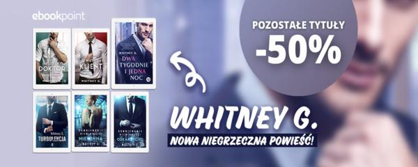 whitney g wydawnictwo kobiece nowa powieść