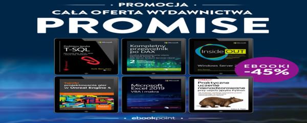 Cała oferta Wydawnictwa PROMISE / -45%