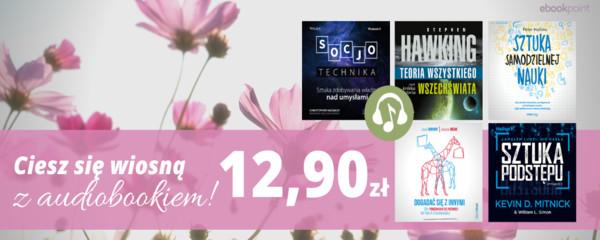 ciesz się wiosną z audiobookiem 12,90zł