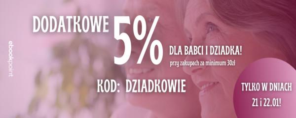 dzień babci i dziadka - dodatkowe 5%