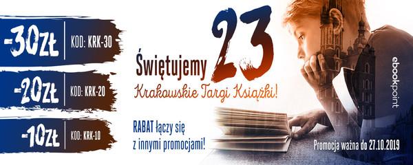 Świętujemy 23. Krakowskie Targi Książki!