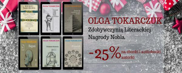 Olga Tokarczuk - Literacka NAGRODA NOBLA!