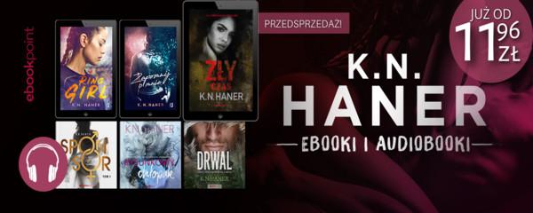 k.n. haner - ebooki i audiobooki wydawnictwo kobiece i editio