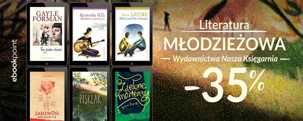 Nasza Księgarnia literatura młodzieżowa