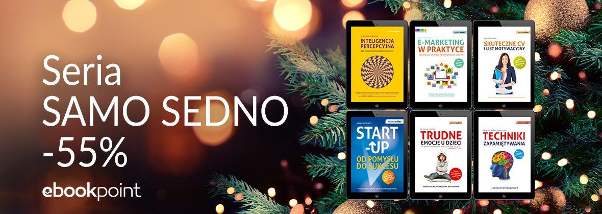 Promocja na ebooki SAMO SEDNO / -55%