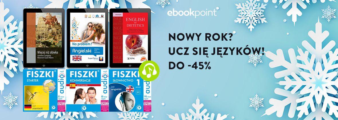 Promocja na ebooki Nowy Rok? Ucz się języków! [do -45%]