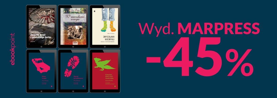 Promocja na ebooki Wyd. MARPRESS -45%