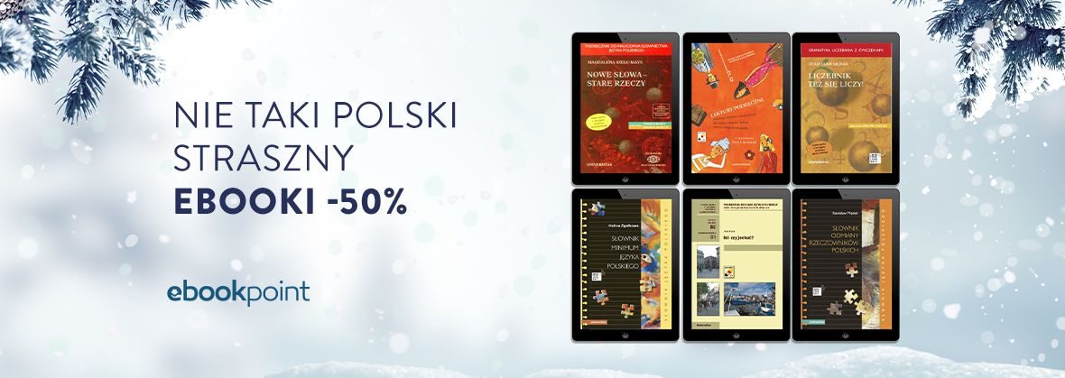 Promocja na ebooki UNIVERSITAS [język polski -50%]