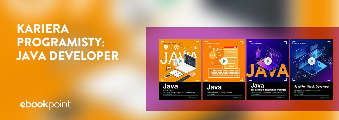 Promocja na ebooki Kariera programisty: Java Developer | Kursy -60%