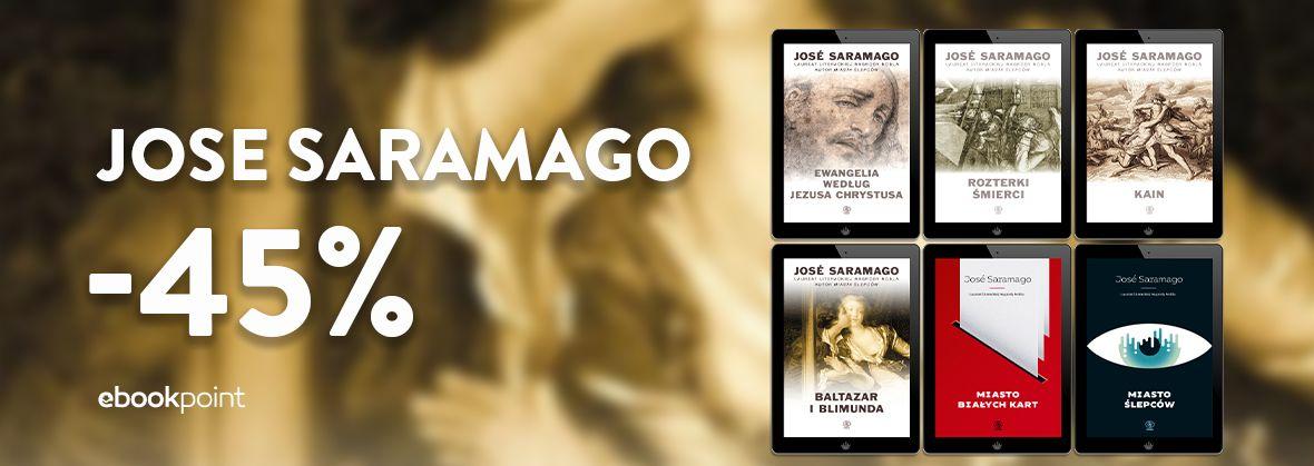 Promocja na ebooki JOSE SARAMAGO / -45%