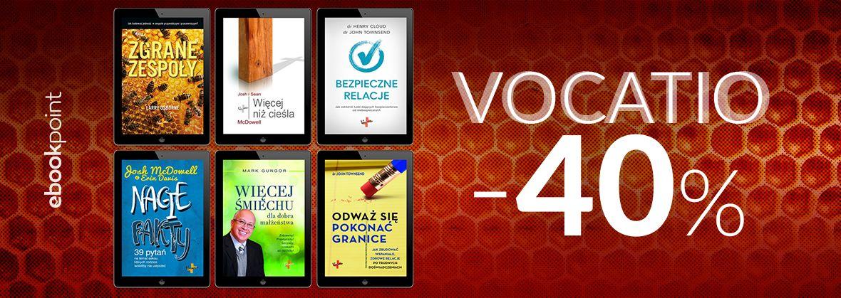 Promocja na ebooki VOCATIO [teraz -40%]
