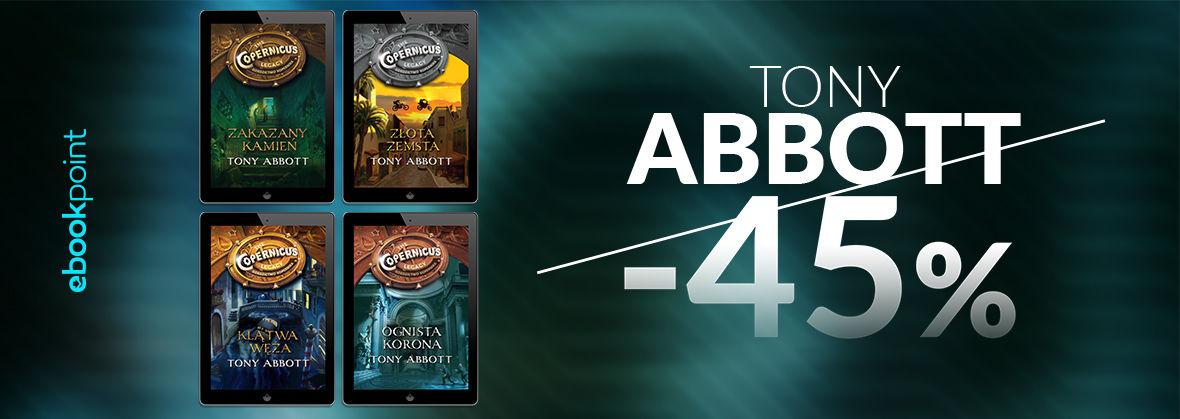Promocja na ebooki TONY ABBOTT / -45%