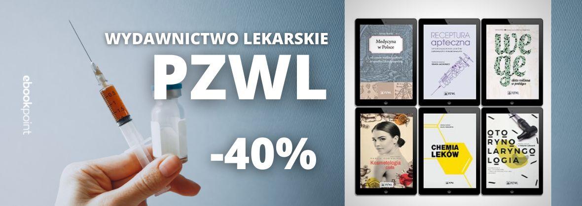 Promocja na ebooki Cała oferta Wydawnictwa PZWL / -40%