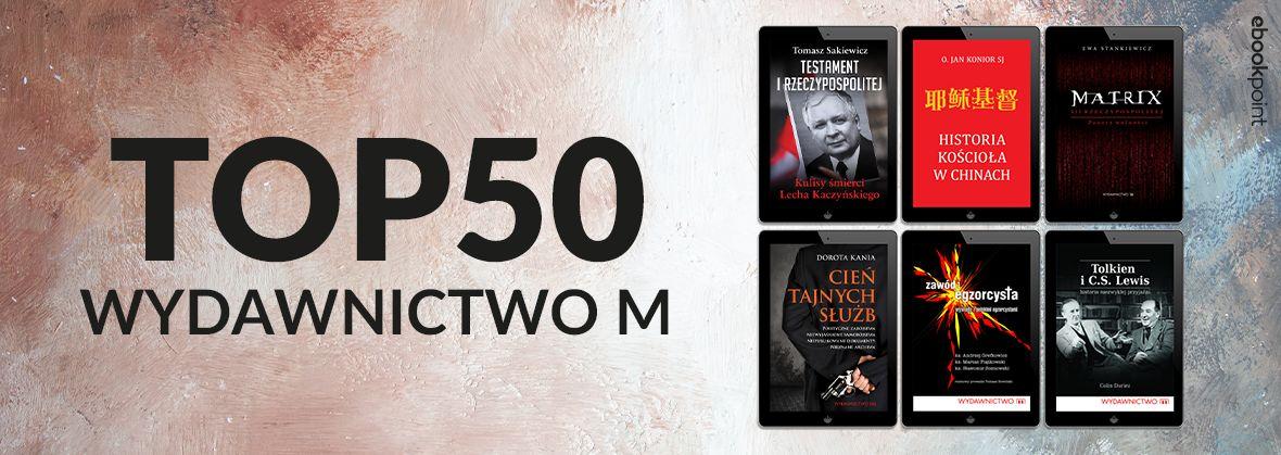 Promocja na ebooki Wydawnictwo M / TOP50