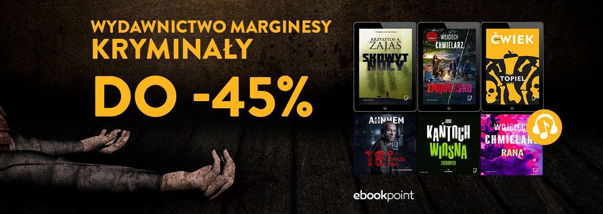 Promocja na ebooki Wydawnictwo Marginesy [KRYMINAŁY do -45%]