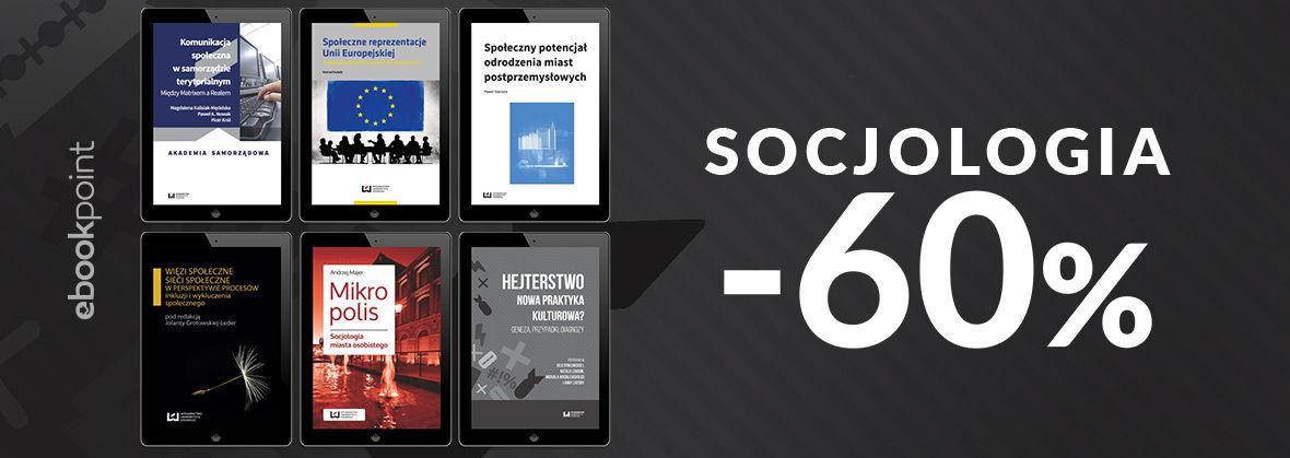 Promocja na ebooki SOCJOLOGIA / -60%