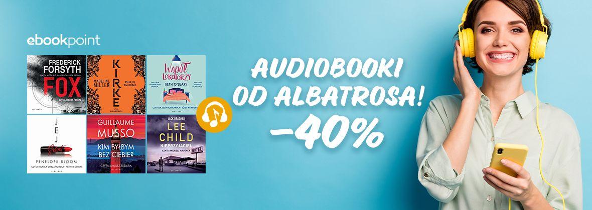 Promocja na ebooki Audiobooki od Albatrosa! / -40%