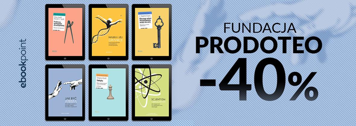 Promocja na ebooki PRODOTEO [-40%]