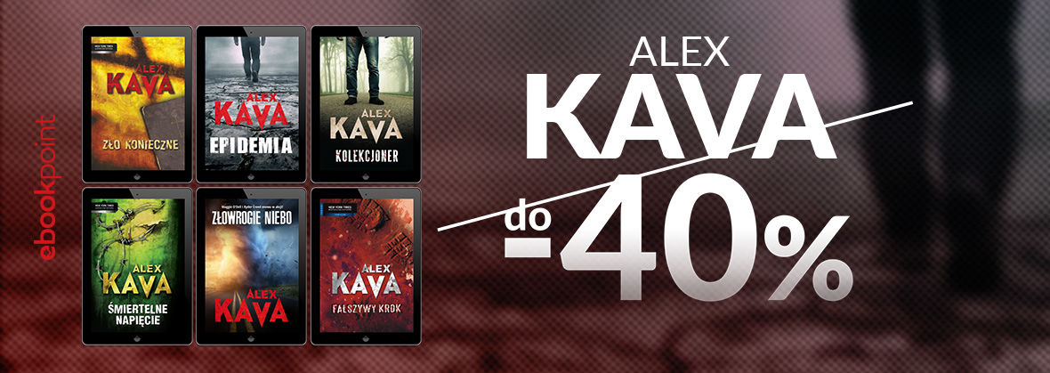 Promocja na ebooki Alex Kava do -40%