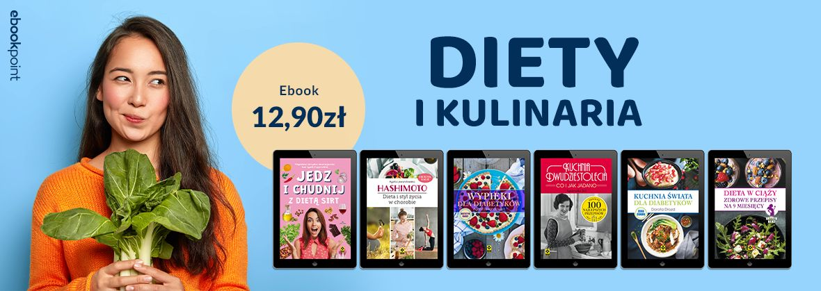 Promocja na ebooki Diety i kulinaria / 12,90zł